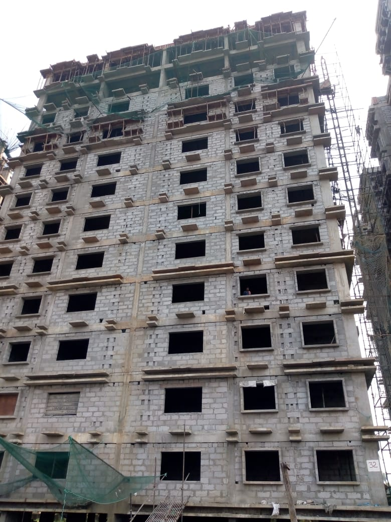 Block 32 : 12th Floor casting has been completed as on 1/7/19