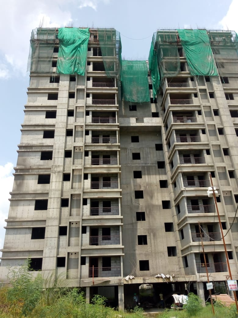 Block 41: Final/Roof slab casting  has been completed as on 21/08/2019