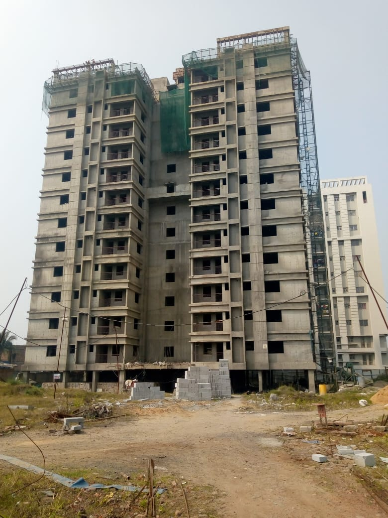 Block 41: Internal plaster 11th floor completed as on 23/03/2020