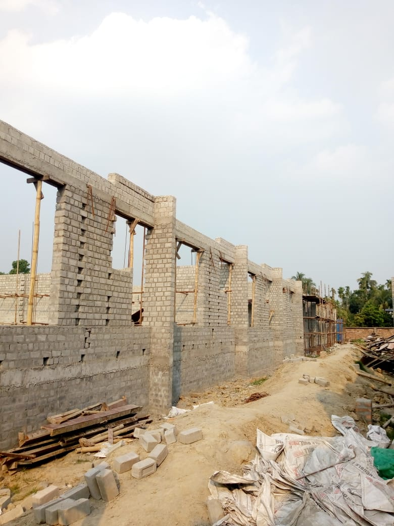 CLUSTER 17 (BUNGALOW NO. 178-186) :  Foundation and Ground floor slab casting has been completed as on 31/03/2020