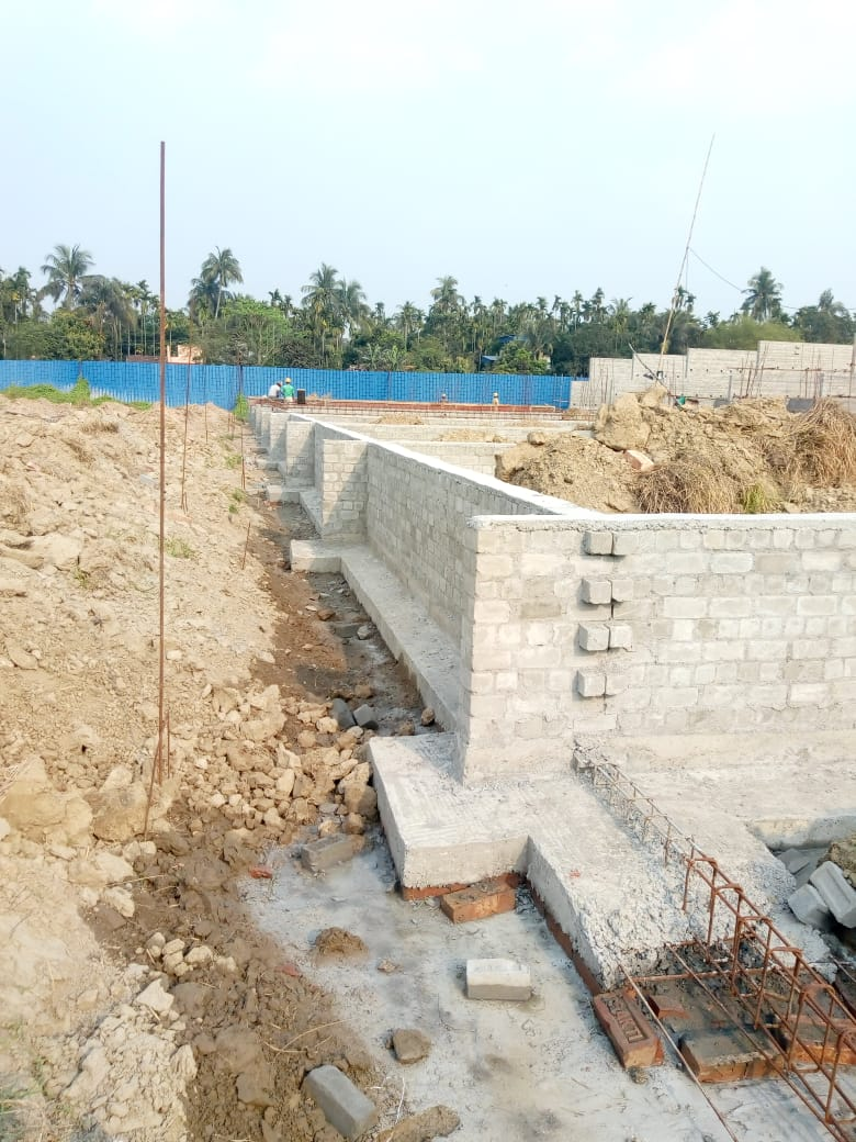 CLUSTER 20 (BUNGALOW NO. 168-177) :  Foundation has been completed as on 31/03/2020