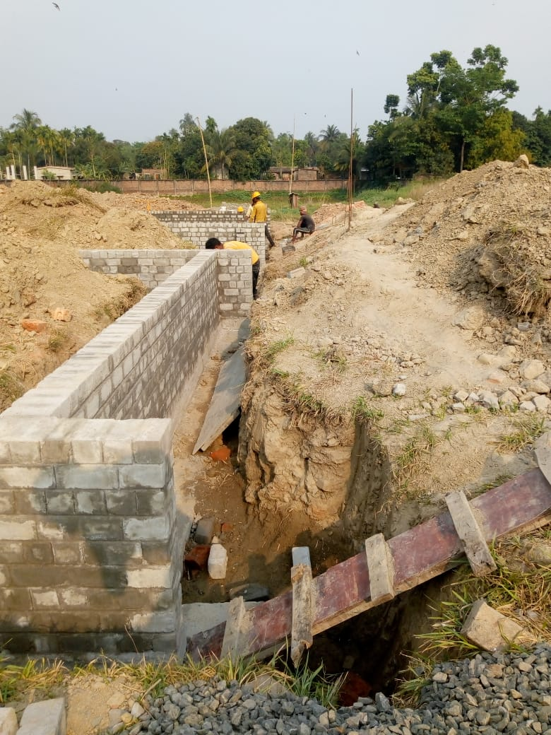 CLUSTER 36 (BUNGALOW NO. 50-52) : Foundation has been completed as on 31/03/2020