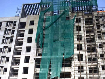 Block-13 : Structural work & external plaster work completed; Internal finishing work in progress  as on 1/10/2020