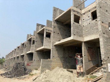 CLUSTER 14 (ROW HOUSE NO. 199-210) ):  Foundation/Ground floor slab casting, 1st floor slab casting and  Roof slab casting of row house no. of 199,200,201,202,203,204, 205,206,207,208,209 & 210 has be