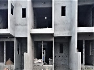 ground floor slab casting of row house no. 145, 146 & 147  have been completed as on 16.06.2021