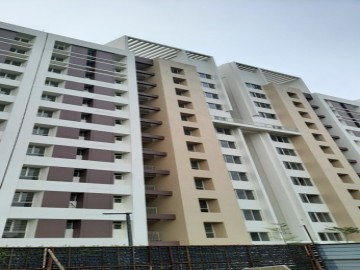 BLOCK- 5 :  Flat handover process going on as on 01.08.2021