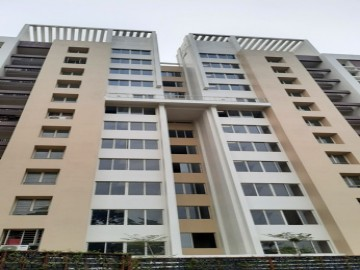 Block-6 : Flat handover process going on as on 01.08.2021