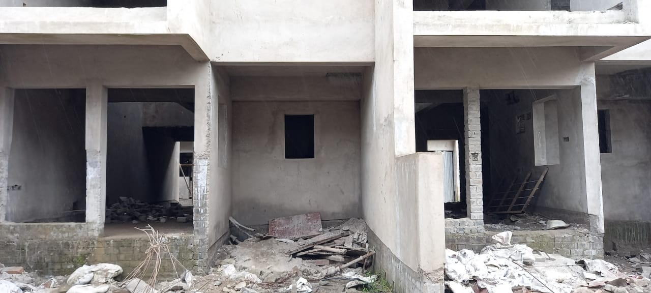 ground floor slab casting of row house no. 103 & 104  have been completed as on 13.09.2021