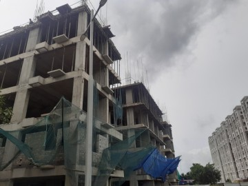 Block 28: 5th floorcasting has been completed as on 28.09.2021.