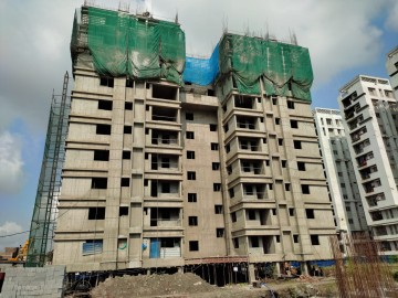 Block 40: 11th floor slab casting  has been completed as on 07.10.2021