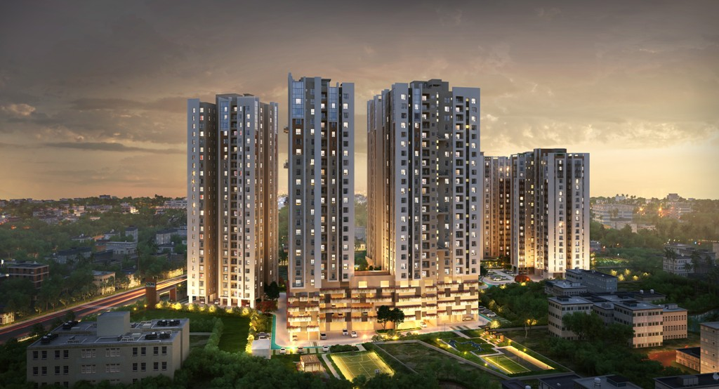 Best & Affordable luxury residential projects in Kolkata - Srijan Realty